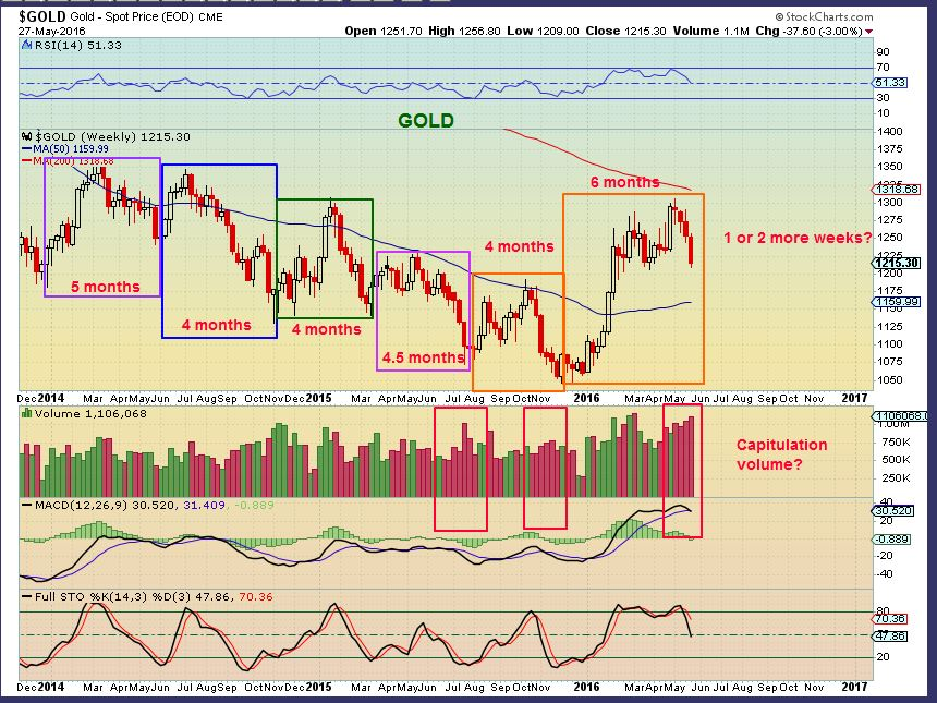 Gold Cycles | Gold Bull Market | Robert Alexander | Chart Freak