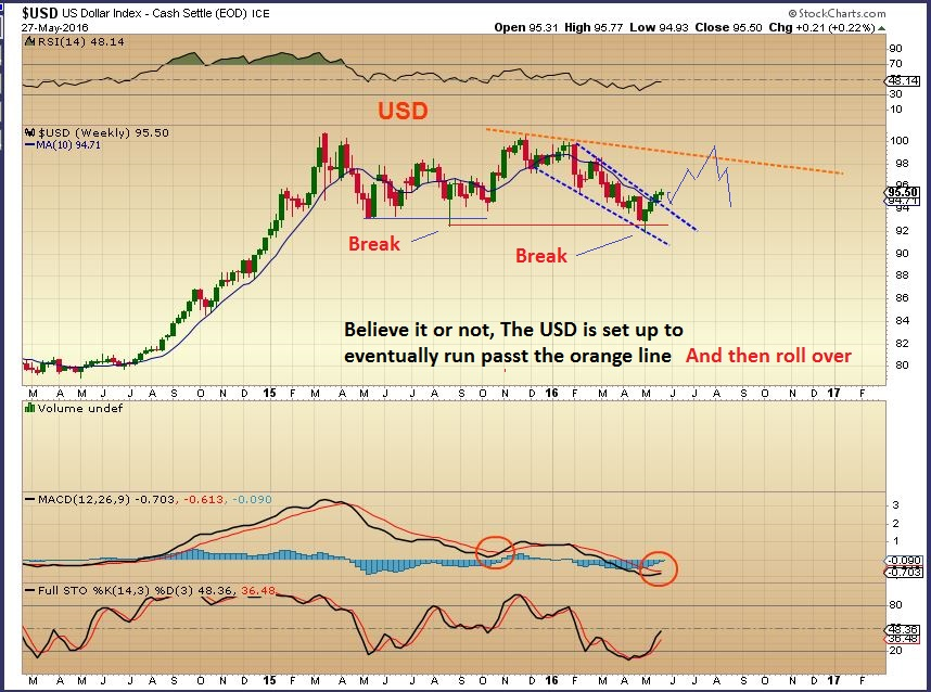 US Dollar and Gold Bull Market | Robert Alexander | Chart Freak